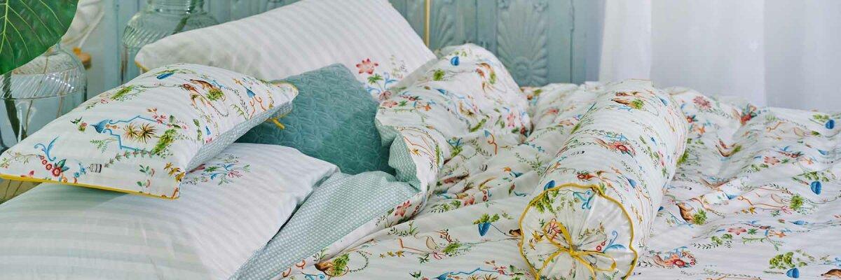 Perkal Bettwäsche zeichnet sich durch ein...
