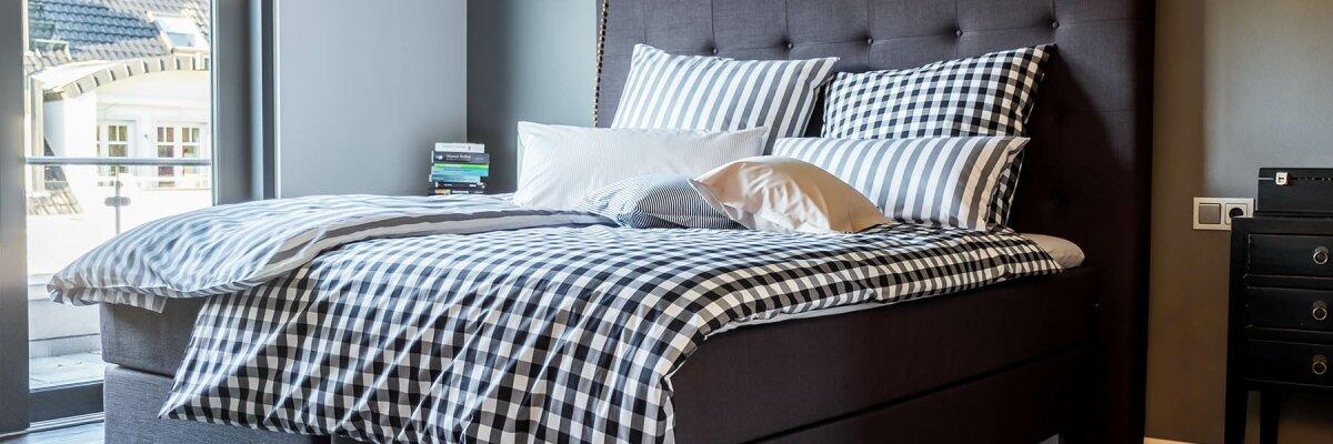 Die Bettwäsche der Baretti Home Selection...