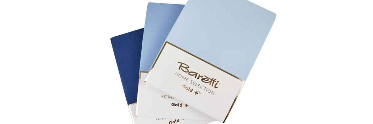Die Spannbetttücher der Baretti Home Selection...
