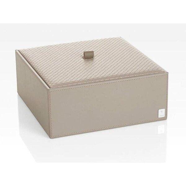 JOOP! Homeline Mehrzweckbehälter mit Deckel groß grau