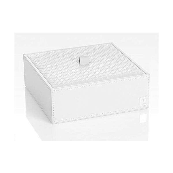 JOOP! Homeline Mehrzweckbehälter mit Deckel groß weiß