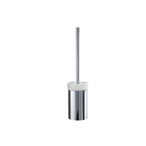 JOOP! Chromeline WC-Bürstengarnitur Chrom/Keramik weiß