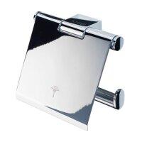 JOOP! Bathline Toilettenpapierhalter mit kippbarem Deckel...